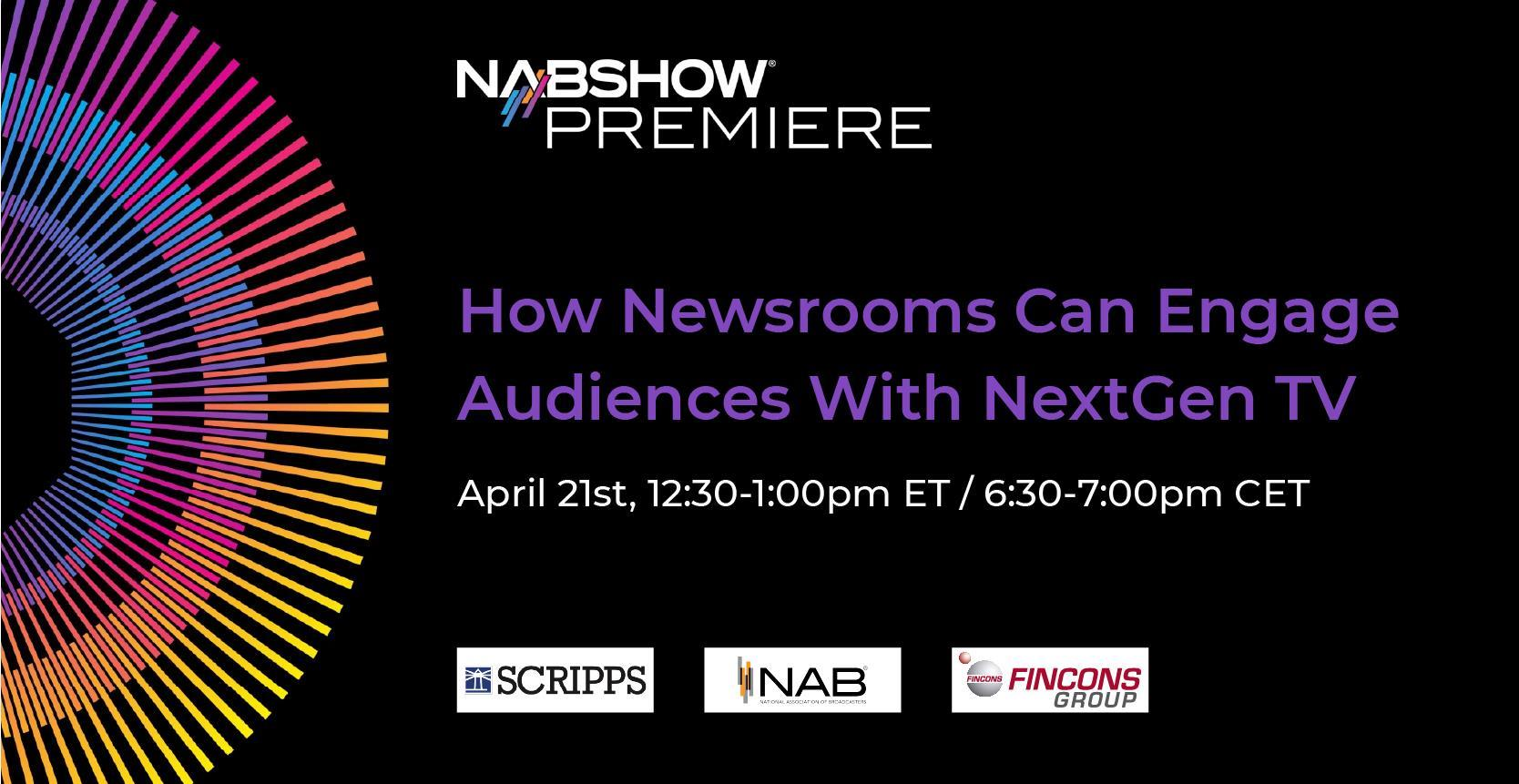 Fake News erkennen: Panel Session auf der NAB Show Premiere